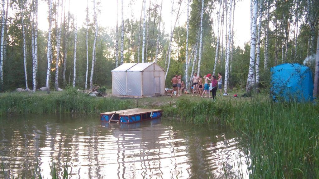 тестдрайв походной бани